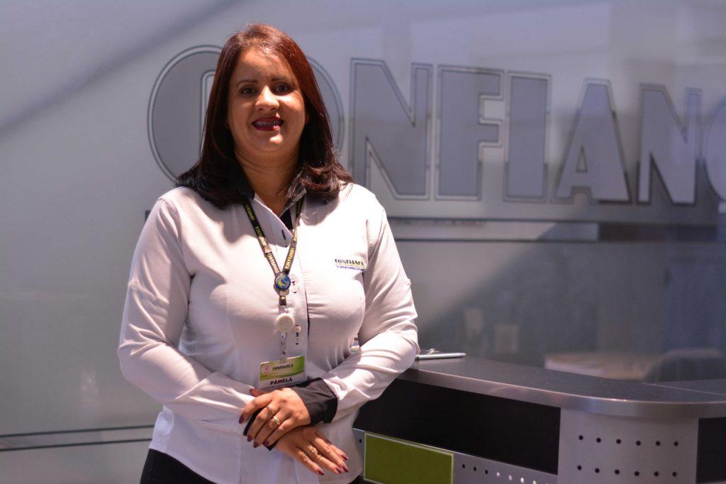 Pâmela Dinato Pereira e Silva - coordenadora de recrutamento e seleção do Confiança Supermercados - Inclusão social